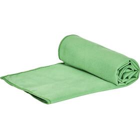 CAMPZ microvezel handdoek M groen